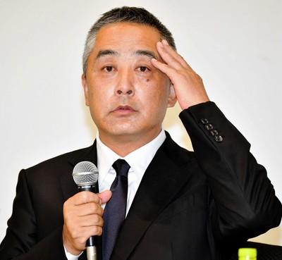 岡本社長 会見