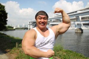 ジャスティス岩倉の経歴や学歴は?結婚や腕の筋肉に本名も